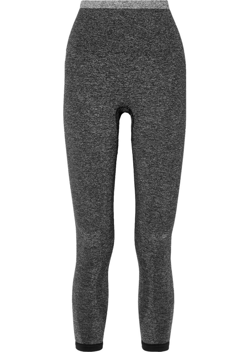LNDR Tone Cropped Stretch-knit Leggings