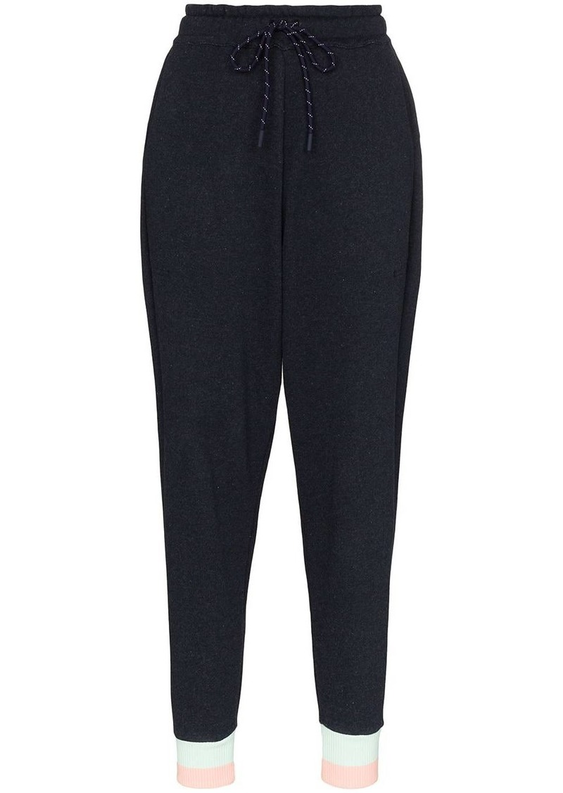 LNDR Trouble stripe ankle band track trousers