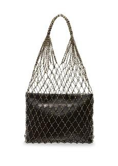 Loeffler Randall Adrienne Leather Tote Set