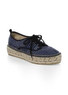 Loeffler Randall Alfie Canvas Espadrille Sneakers