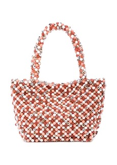 Loeffler Randall beaded tote bag