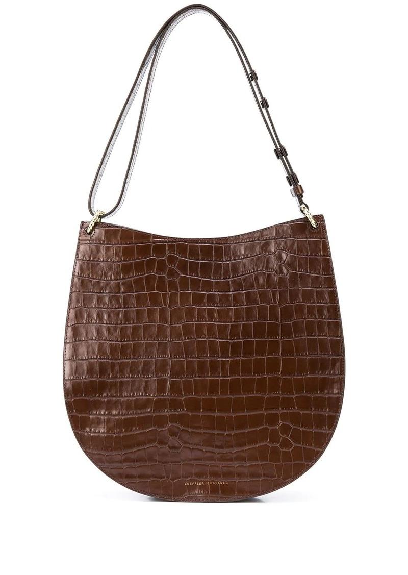 Loeffler Randall Caroline twisted ring shoulder bag