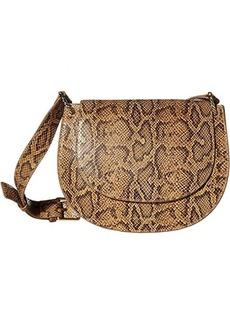 Loeffler Randall Cecil Leather Saddle Bag