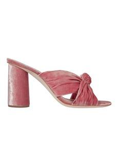 Loeffler Randall Coco Petal Knot Slide Sandals