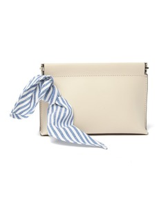 Loeffler Randall Colette Frame Top Leather Pouch