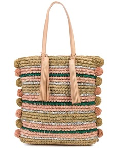 Loeffler Randall Cruise striped tote bag