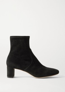Loeffler Randall Cynthia Suede Ankle Boots