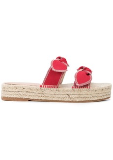 Loeffler Randall Daisy platform sandals