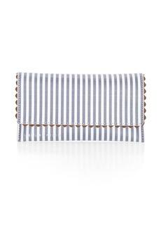 Loeffler Randall Everything Stripe Leather Wallet