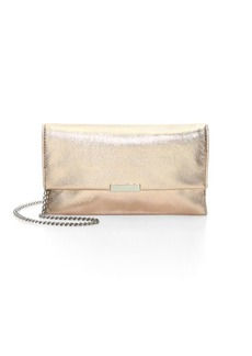 Loeffler Randall Fringed Leather Clutch