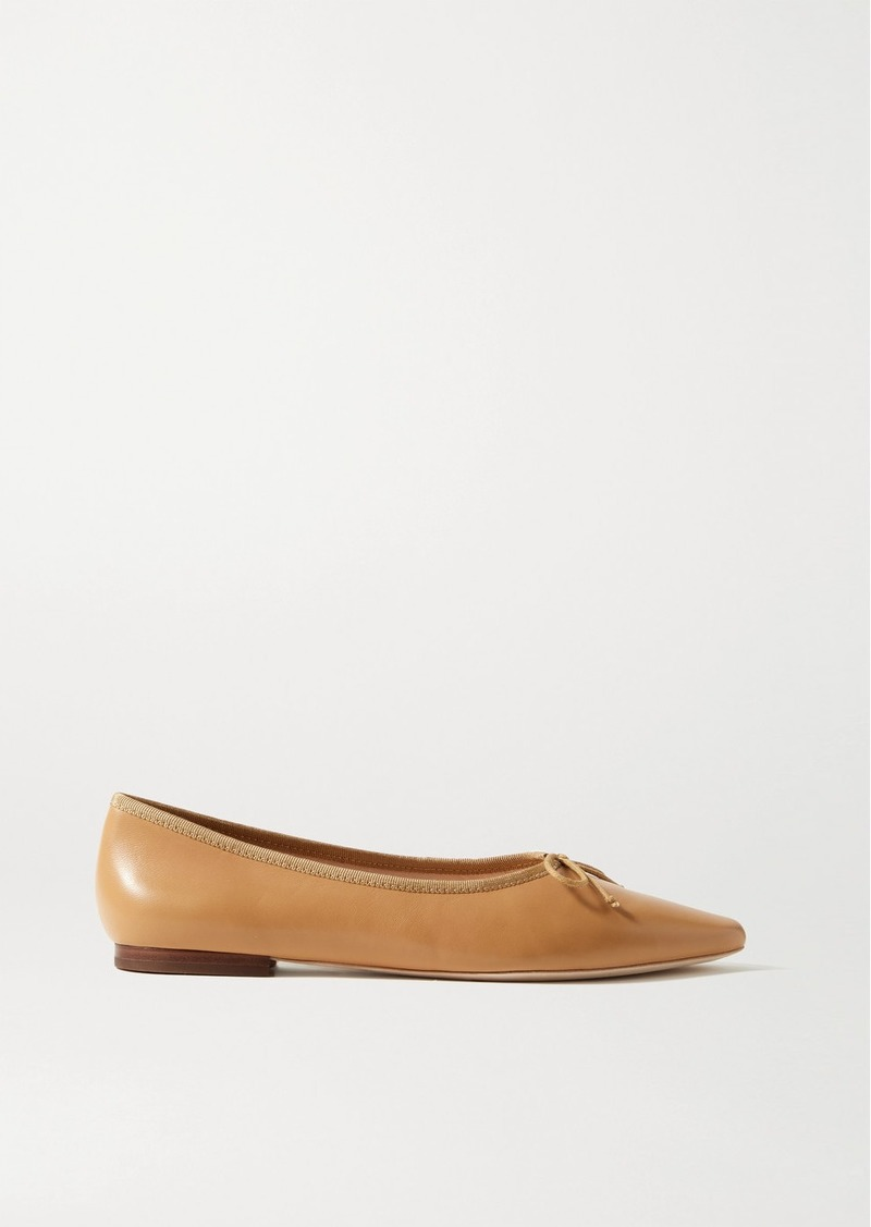 Georgie Leather Ballet Flats