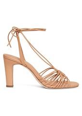 Loeffler Randall Hallie Strappy Ankle Wrap Heeled Sandals