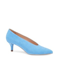 Loeffler Randall Janey Point Toe Suede Pumps