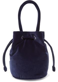 Loeffler Randall Jesmyn Velvet Bucket Bag