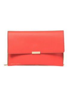 Loeffler Randall Leather Envelope Clutch