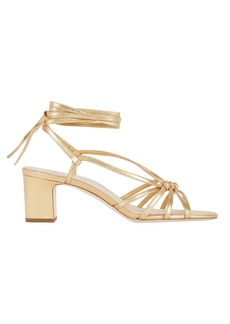 Loeffler Randall Libby Knotted Leather Sandals