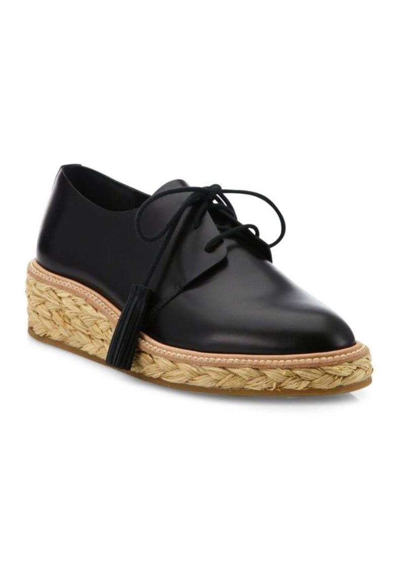 2d38bc1c847 Callie Leather Espadrille Oxfords