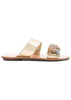 Loeffler Randall Clem Sandal in Metallic Gold. - size 10 (also in 6,8,9.5)