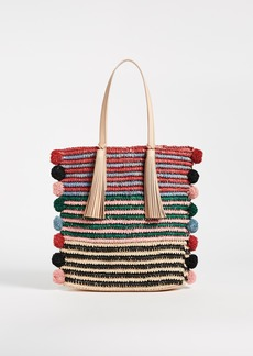 Loeffler Randall Cruise Tote With Poms