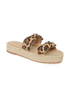 Loeffler Randall Daisy Knot Espadrille Slide Sandal (Women)
