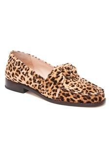 Loeffler Randall Elina Leopard Knot Loafers