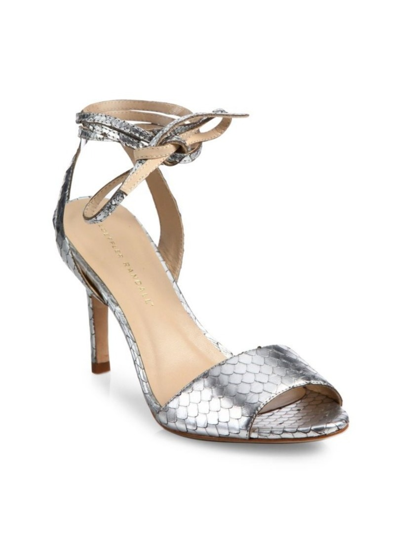 outlet store cheap online Loeffler Randall Embossed Ankle Strap Sandals discount wide range of lznG0