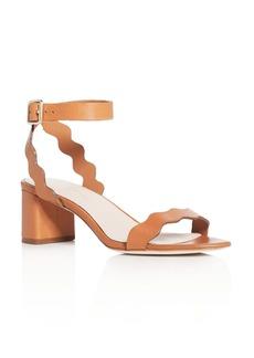 Loeffler Randall Emi Ankle Strap Block Heel Sandals