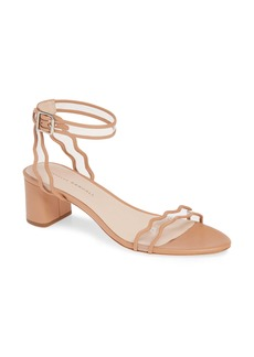 Loeffler Randall Emi Clear Ankle Strap Sandal (Women)