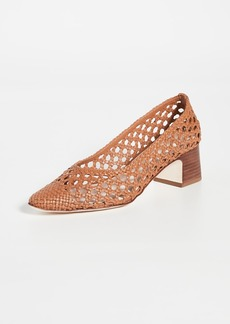 Loeffler Randall Imogene Woven Leather Pumps