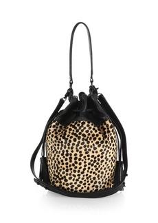 Loeffler Randall Industry Calf Hair Bucket Bag