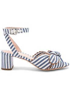 Loeffler Randall Jill Knotted Block Heel With Ankle Strap