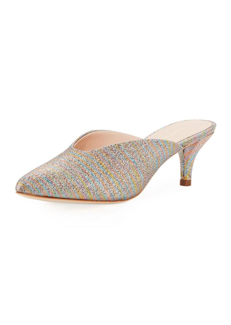b2ed3ca84a Loeffler Randall Loeffler Randall Juno Glitter Striped Mule | Shoes