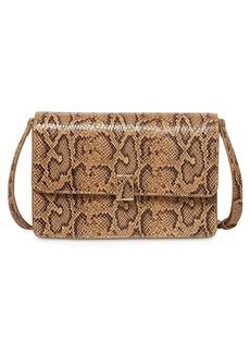 Loeffler Randall Katalina Small Embossed Leather Shoulder Bag