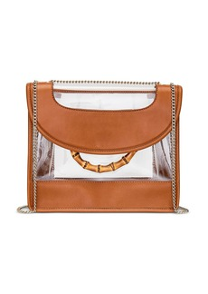 Loeffler Randall Marla See-Through Leather Convertible Shoulder Bag