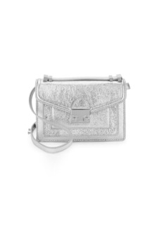 Loeffler Randall Mini Ride Metallic Crossbody Bag