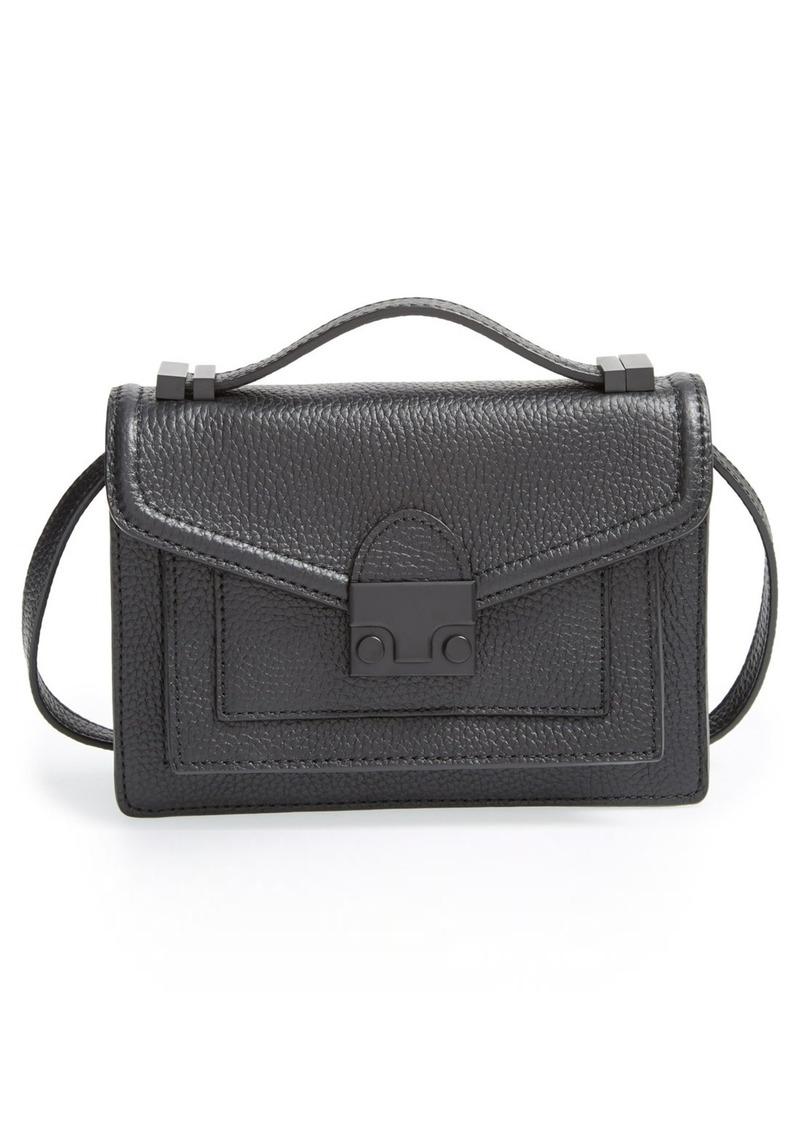 Loeffler Randall 'Mini Rider' Leather Crossbody Bag
