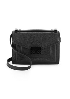 Loeffler Randall Mini Rider Leather Crossbody Bag