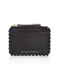 Loeffler Randall Nina Leather Card Case