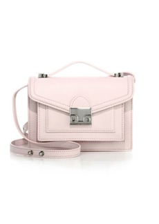 Loeffler Randall Rider Mini Leather Satchel
