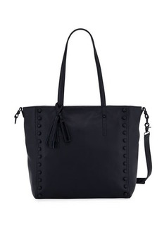 Loeffler Randall Studded Leather Tote Bag