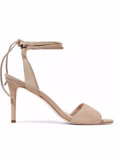 Loeffler Randall Woman Elyse Suede Sandals Beige