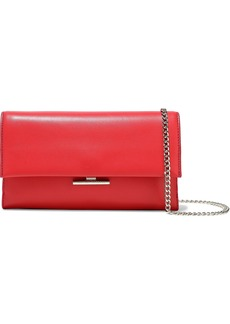 Loeffler Randall Woman Leather Shoulder Bag Tomato Red