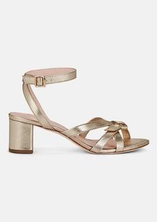 Loeffler Randall Women's Anny Leather Ankle-Strap Sandals