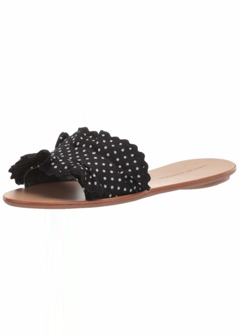 Loeffler Randall Women's Birdie-CTN Slide Sandal   Medium US