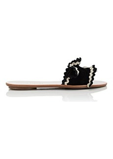 Loeffler Randall Women's Birdie Suede Slide Sandals