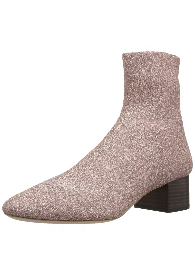 Loeffler Randall Women's Carter (Metallic Knit) Chelsea Boot   M US