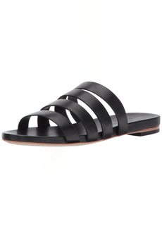 Loeffler Randall Women's Caspar Strappy Slide (Leather) Sandal  5.5 B US