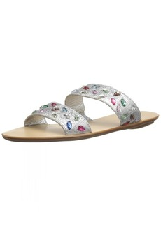 Loeffler Randall Women's Clem (Crinkle Metallic Gem) Sandal   M US