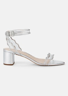 Loeffler Randall Women's Emi Leather & PVC Ankle-Strap Sandals