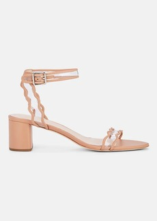 Loeffler Randall Women's Emi Leather Ankle-Strap Sandals